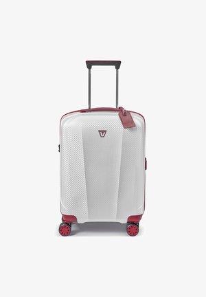 Wheeled suitcase - rosso-bianco