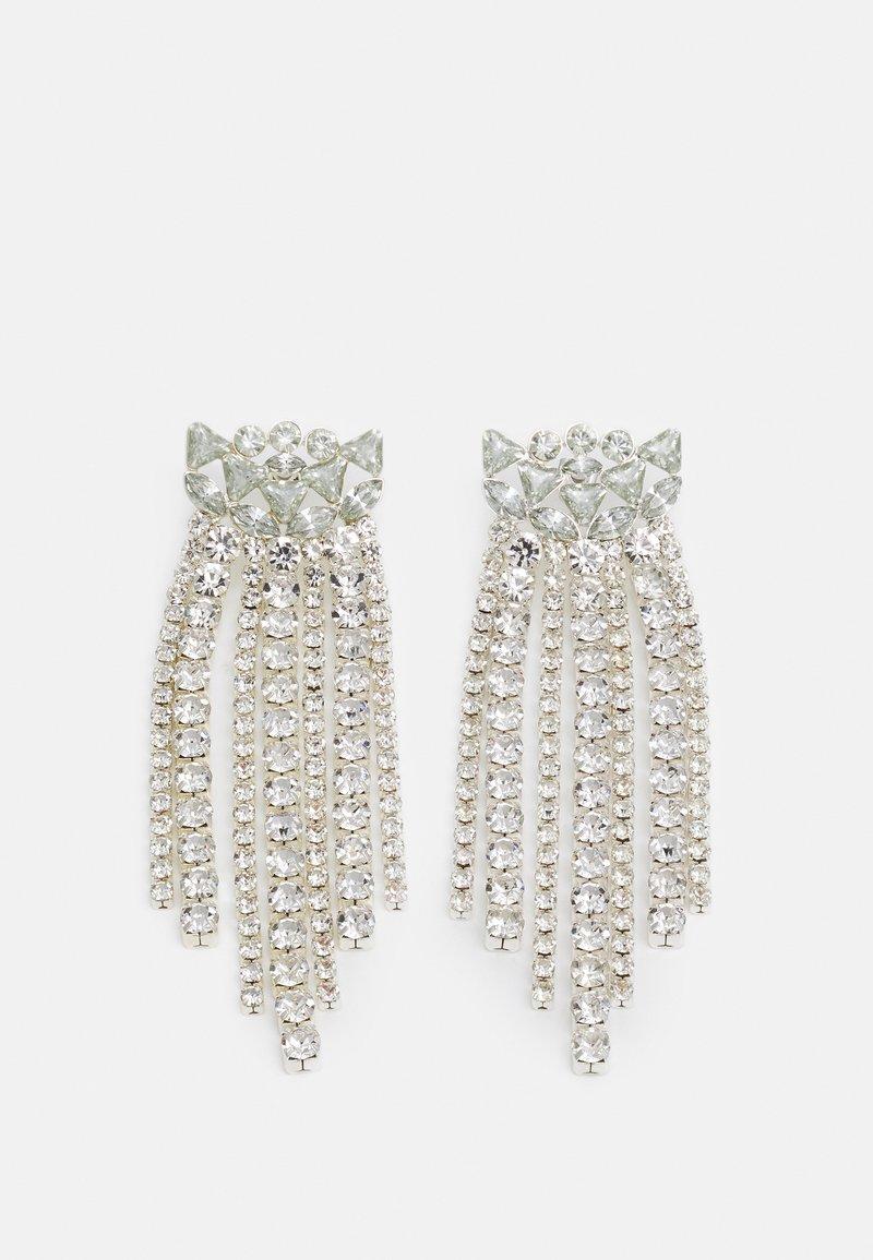 Pieces - PCSALINA EARRINGS - Earrings - silver-coloured