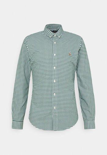 LONG SLEEVE SPORT SHIRT - Shirt - pine/white