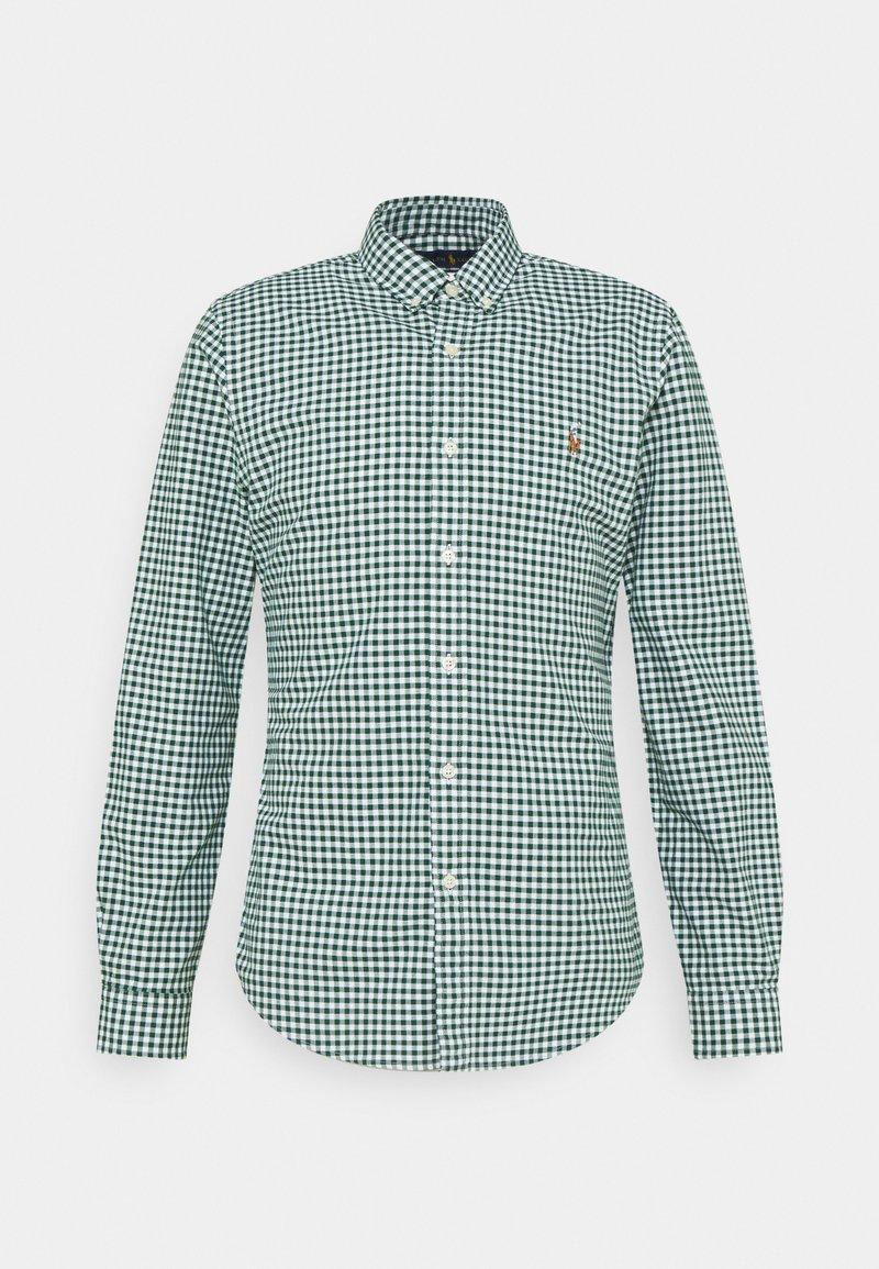 Polo Ralph Lauren - LONG SLEEVE SPORT SHIRT - Shirt - pine/white
