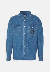 Calvin Klein Jeans - OVERSIZED SHIRT - Overhemd - mid blue - 6