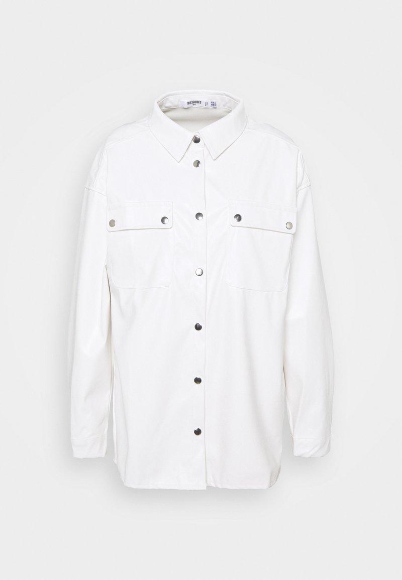 Missguided Tall - Skjorte - white