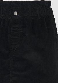 Noisy May Tall - NMJUDO PAPERBAG SKIRT - Miniskjørt - black - 2