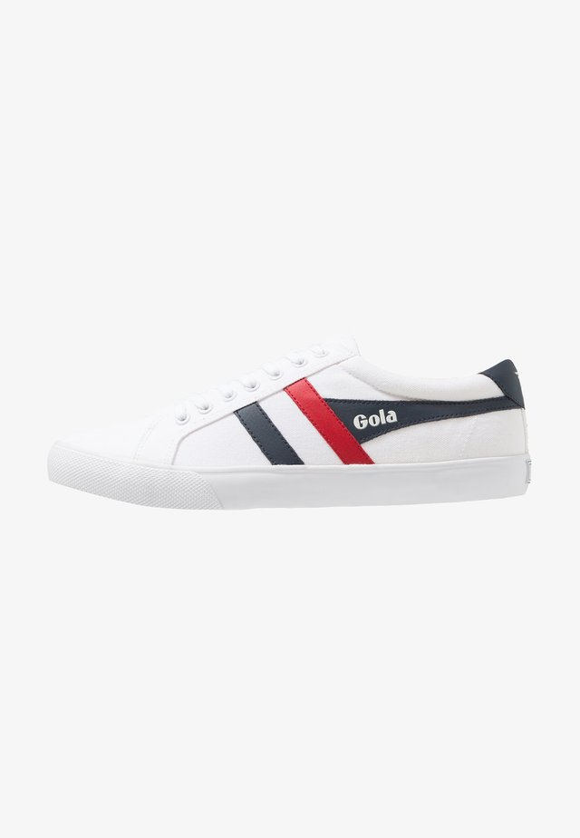 VARSITY VEGAN - Sneakers basse - white/navy/red