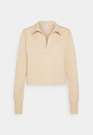 YOUR BEST COLLAR  - Långärmad tröja - beige