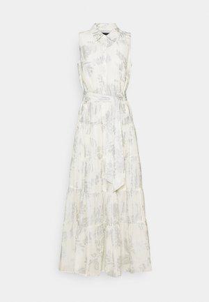 PUJA SLEEVELESS DAY DRESS - Maxi dress - white/silver