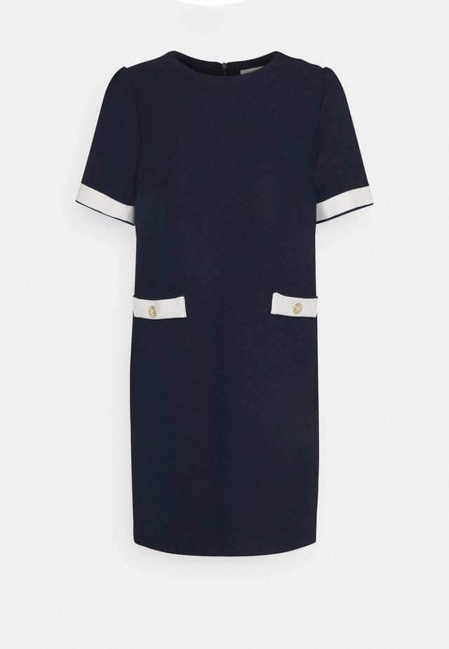 EDY - Strikket kjole - navy