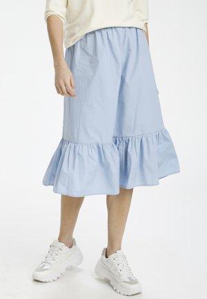 A-line skirt - celestial blue