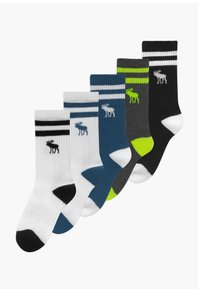 Abercrombie & Fitch - SEASONAL 5 PACK - Ponožky - multi-coloured - 0