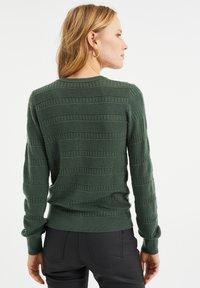 WE Fashion - Cardigan - army green - 2