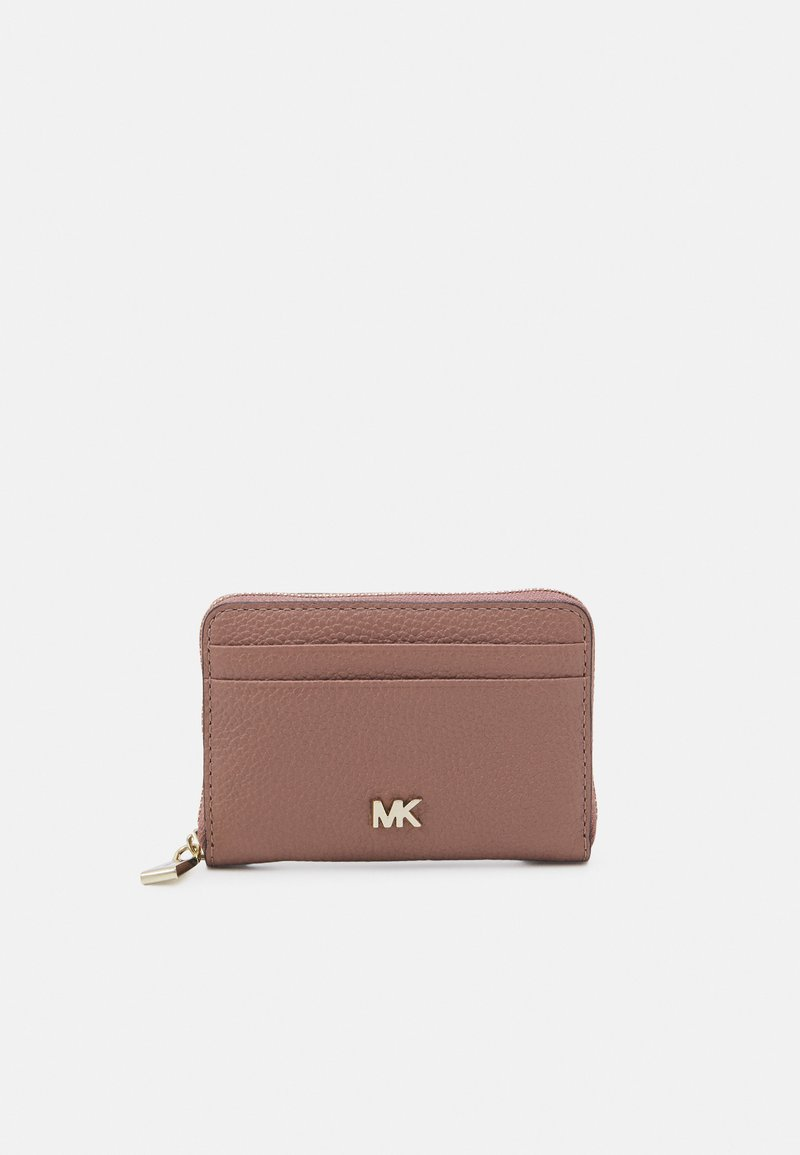 MICHAEL Michael Kors - MOTTZA COIN CARD CASE - Peněženka - dark fawn