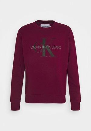 MONOGRAM CREW NECK - Sweatshirts - purple