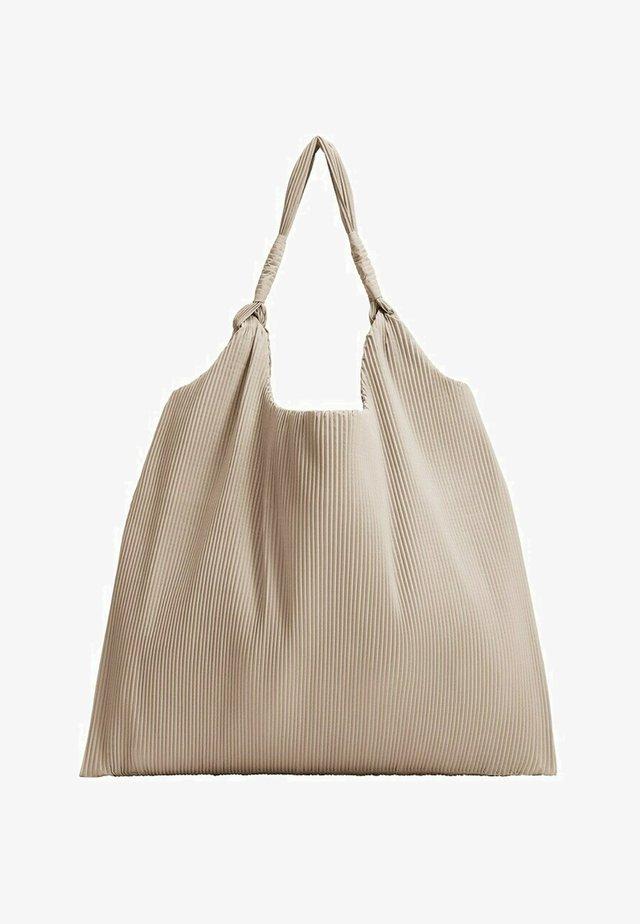 CEFALU - Shopping bag - beige