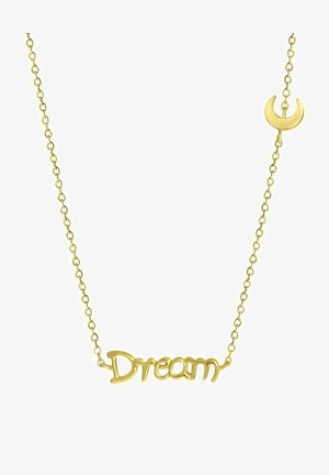 MOON - Necklace - gold-coloured