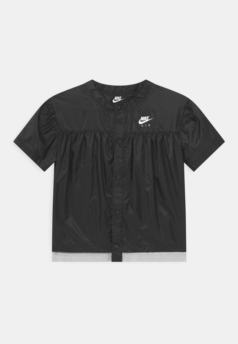 Nike Sportswear - AIR - Blouse - black/light smoke grey/white