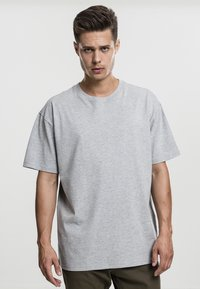 Urban Classics - HEAVY OVERSIZED TEE - T-shirt basic - grey - 1