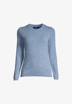Trui - cloudy blue heather donegal