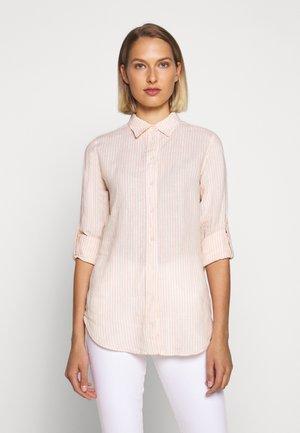TISSUE - Camisa - pink/cream