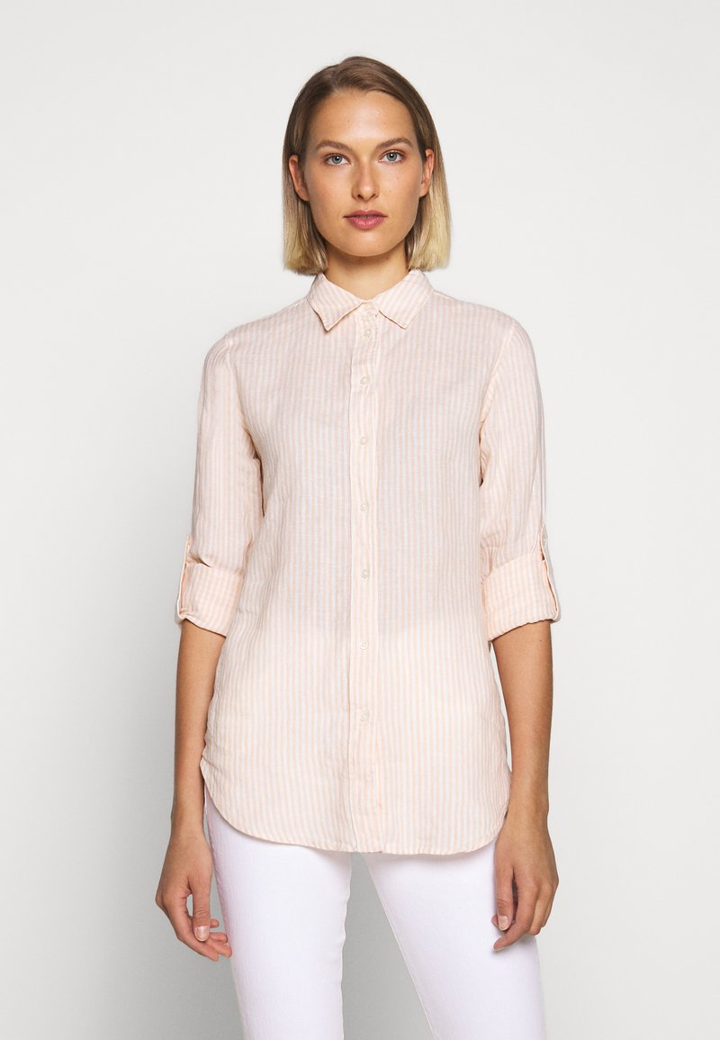 Lauren Ralph Lauren - TISSUE - Button-down blouse - pink/cream