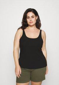 Selected Femme Curve - SLFNANNA TANK - Top - black - 0