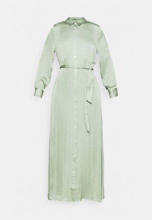 EASY SHIRTDRESS SOFT - Maxi dress - sage bouquet