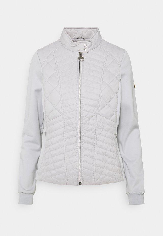 HALLSTATT SWEAT - Lehká bunda - ice white