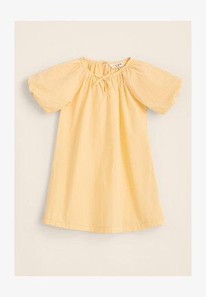 PUFF SLEEVE - Jerseyjurk - light yellow