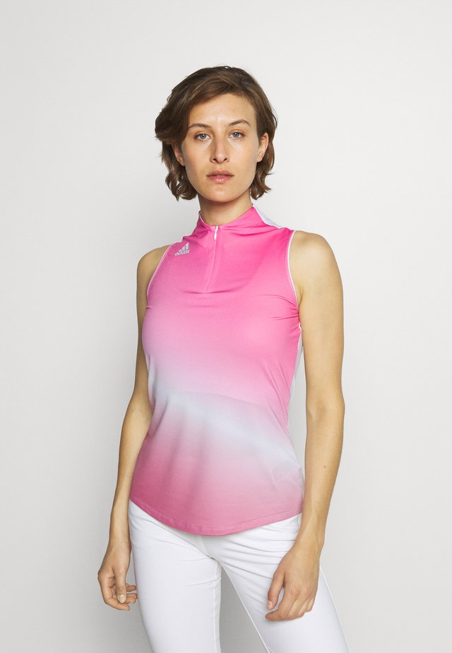 AEROREADY GRADIENT SLEEVELESS  - Sportshirt - screaming pink