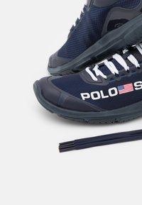 Polo Ralph Lauren - TECH RACER - Trainers - navy/white - 4