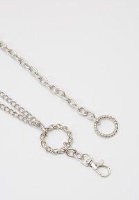 Gina Tricot - NELLA CHAIN BELT - Belte - silver-coloured - 1