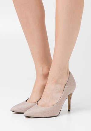 COURT SHOE - High Heel Pumps - champagne