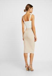 Glamorous - Pencil skirt - stone - 2