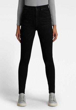 KAFEY  - Jeans Skinny Fit - jet black scar restored