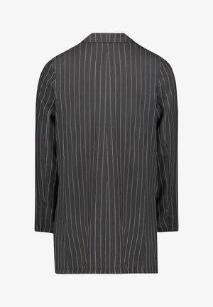 Short coat - schwarz/beige