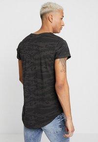 G-Star - VONTONI RELAXED - Print T-shirt - raven/dark black - 2
