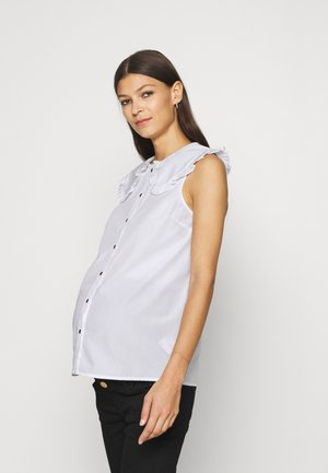 PCMLEINE  - Button-down blouse - bright white
