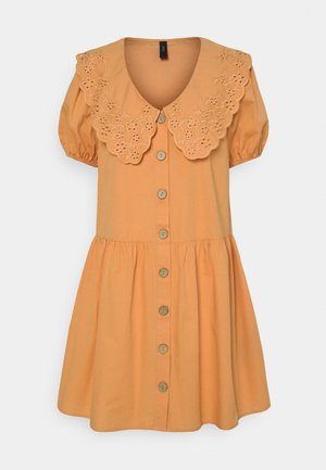 YASSOFFE DRESS  - Shirt dress - sandstone