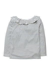 Boden - Long sleeved top - natural white/dark blue - 1