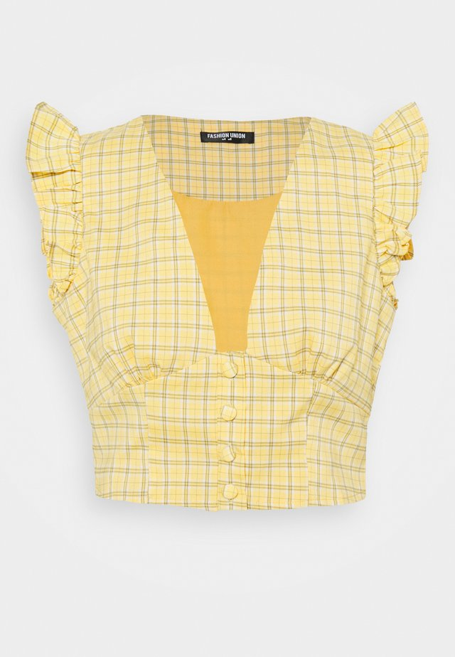 VELINO - Blouse - yellow