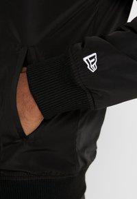 New Era - NBA TEAM LOGO JACKET LOS ANGELES LAKERS - Training jacket - black - 5