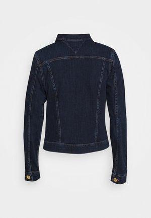 VIENNA - Giacca di jeans - dark-blue denim