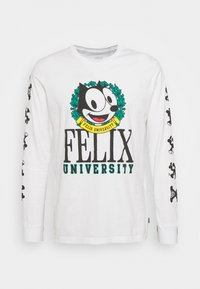 FELIX LONG SLEEVE TEE UNISEX - Long sleeved top - white