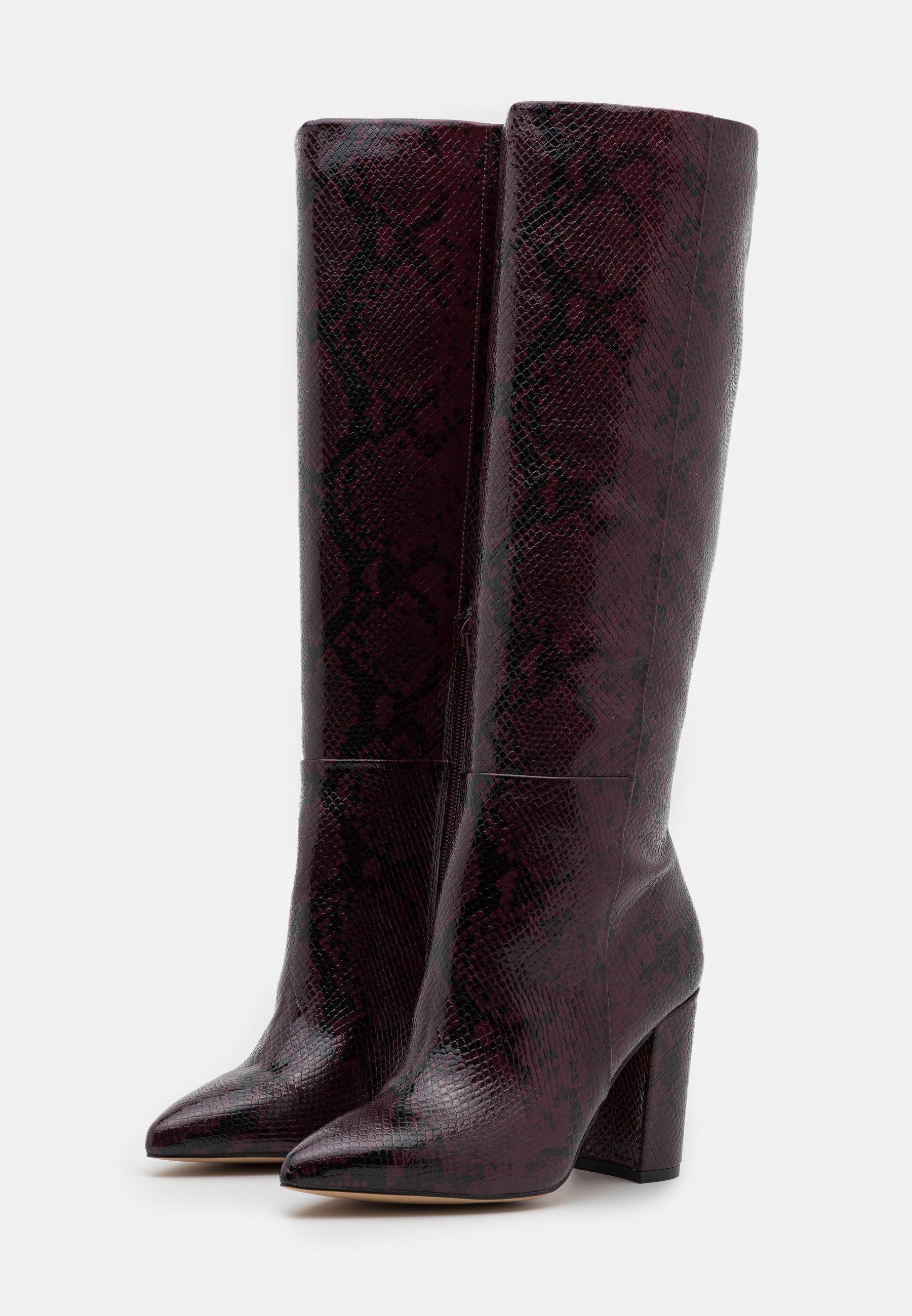 ALDO KINKUNA High Heel Stiefel bordo/rot