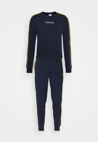 Reebok - PIPING TRACKSUIT - Tracksuit - vector navy - 0