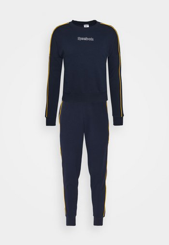 PIPING TRACKSUIT - Tracksuit - vector navy