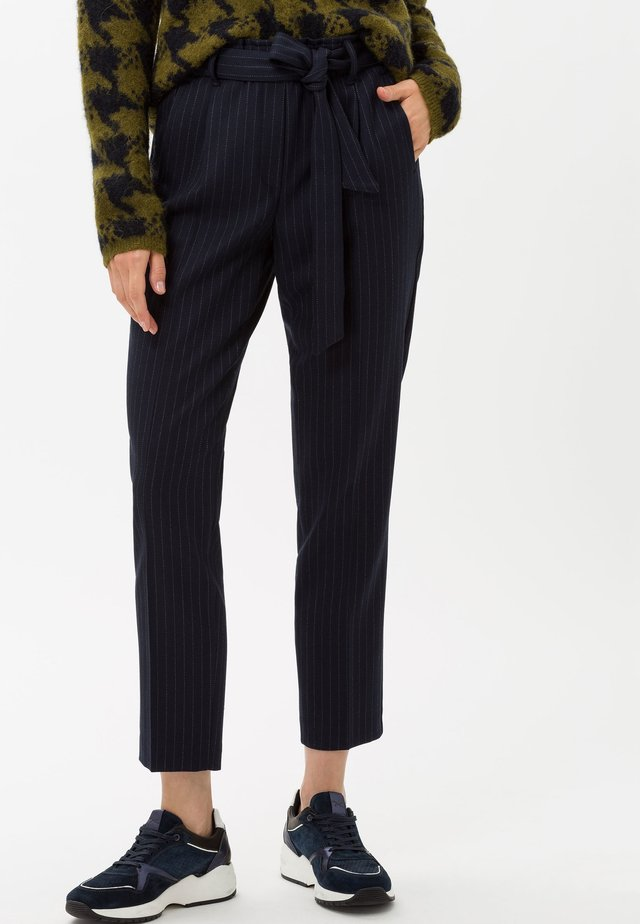 STYLE MILLA S - Trousers - navy