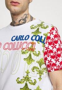Carlo Colucci - UNISEX - Triko spotiskem - white - 3