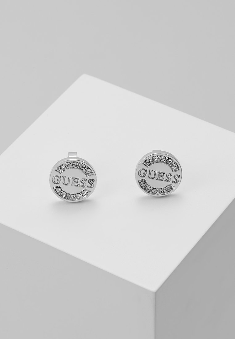 Guess - UPTOWN CHIC - Earrings - silver-coloured