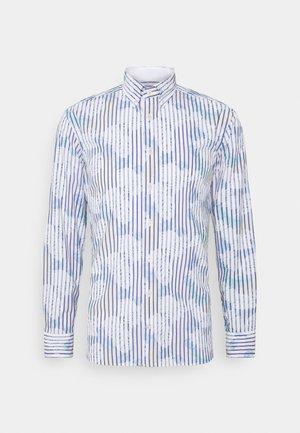 HISBICUS BENGAL STRIPE PRINT SLIM FIT - Camicia - white/multi