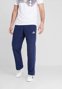 adidas Performance - CORE - Pantaloni sportivi - dark blue/white - 0